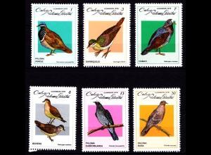 Karibik Vögel Birds Tiere Animals Wildlife 2367-2372 ** MNH (9120