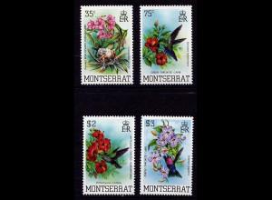 Montserrat 507-10 Vögel Birds Tiere Animals Wildlife 1983 ** MNH (9189