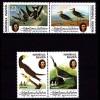 Marshall Islands 31-34 Vögel Birds Wildlife 1985 ** MNH (9191