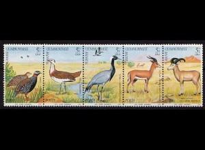 Türkei Turkey Vögel Birds Wildlife 1979 ** Mi. 2501-2505 (9607
