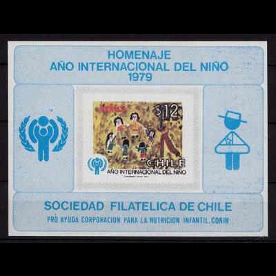 Chile Jahr d.Kindes 1979 Mi. 915 Proof Sonderdruck (9700
