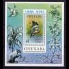 Grenada Block 51 Vögel Birds 1976 ** (10174