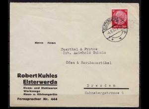 Elsterwerde Kr. Elbe Elster nach Dresden (9875