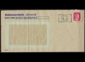 Wien Maschinenstempel von Victoria Werkstatt 1942 (9880