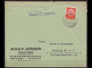 Niedereschach über Villingen nach Leipzig 1936 (9882