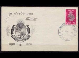 Antarktis Antarctica 1959 Argentinien Argentina EXPOSICION Brief Cover (9936
