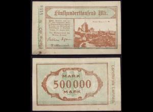 Westfalen - Lennep 500 tausend Mark Notgeld/Gutschein 1923 (cb146
