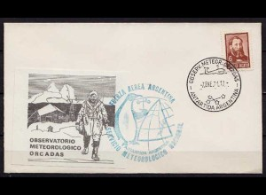 Antarktis Antarctica 1971 Argentinien Argentina meteorology observations (9941