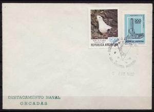 Antarktis Antarctica 1982 Argentinien Argentina NAVAL ORCADAS (9942