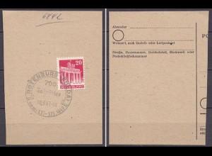Rotenburg Fulda SST 700 Jahr Feier 1947 auf Brfstck. (10200
