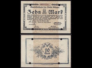 Altona - Hamburg 10 Mark 1918 Notgeld (cb160