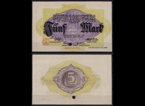 Altona - Hamburg 5 Mark 1918 Notgeld (cb161