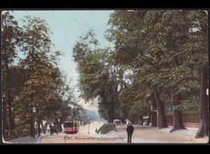 AK Kiel Wasserallee / Schlossgarten mit Strassenbahn - Street Tram (13177