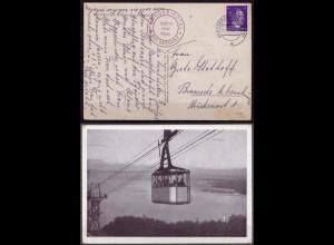 Kressbronn Bodensee AK nach Bramsche Seilbahn 1944 (10238