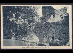 AK Bad Lippspringe Ruine mit Lippequelle (10257