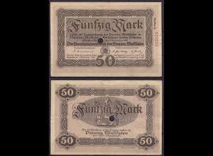 Westfalen - PROVINZ WESTFALEN Münster 50 Mark 1918 Reihe A Notgeld (cb201