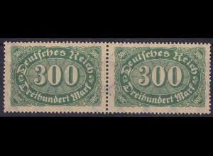 Deutsches Reich DR Infla Mi. 249 I postfrisch h von Reich mit Häkchen (11000