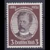 Deutsches Reich DR Mi. 540 ** 3 Pfennig Lüderitz 1934 (11061