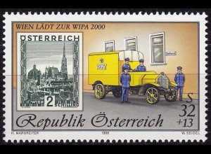 Österreich Mi. 2270 I ** Internationale Briefmarken-Ausstellung 1998 (11066
