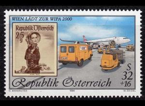 Österreich Mi. 2292 I ** Internationale Briefmarken-Ausstellung WIPA 2000 (11067