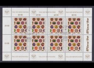 Österreich - Austria - Mi.Nr.1990 Kleinbogen gest. 1990 Tag der Briefmarke(11082