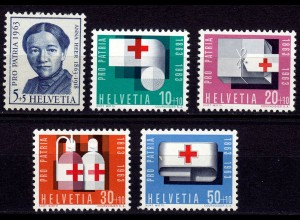 Schweiz Swiss Switzerland Mi. 775-779 Pro Patria 1963 ** (11206