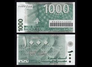 LIBANON - LEBANON 1000 Livres 2004 UNC Pick 84a (16390