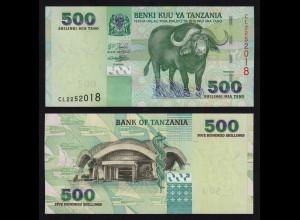 TANSANIA - TANZANIA 500 Shillingi UNC Pick 35 (16389