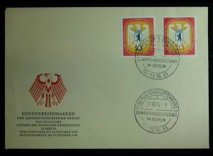 Berlin FDC Mi.Nr. 129/30 Michel KW 24,00 € (a741