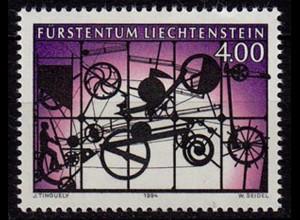 Liechtenstein Zeitgenössische Kunst 1994 Mi 1084** unter Postpreis (c067