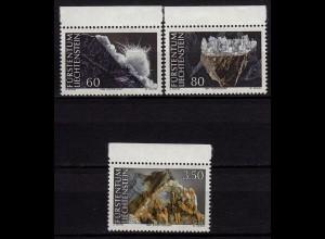 Liechtenstein Mineralien 1994 Mi 1093-95 ** (c071