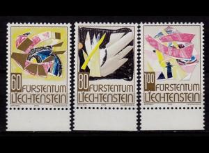 Liechtenstein Weihnachten 1994 Mi 1096-98 ** (c072