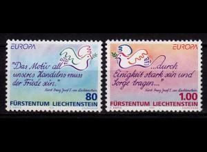 Liechtenstein Europa Cept 1995 Mi 1103-04 ** (c074