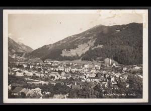 AK Landeck-Zams Tirol Gesamtansicht Feldpost 1940 (16495