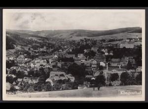 AK Klingenthal Sachsen 7.3.1933 nach Zittau Gesamtansicht (16491