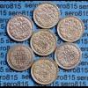Niederlande 10 Cent Silber 7 versch. Jahrgänge (b476