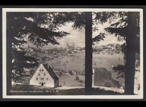 AK Freudenstadt Ansicht mit SST Ski Meisterschaft 1932 n. Herford (16485