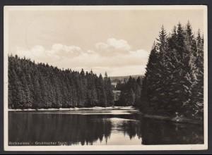 AK Bockwiese Hahnenklee Grumbacher Teich 1935 (16461