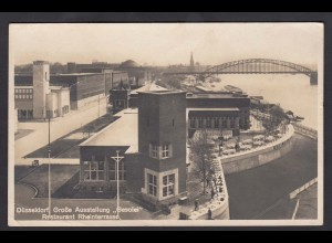 AK Düsseldorf Rheinterassen Ausstellung Gesolei 1926 (16718