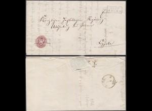 Preussen Schlesien Kupp R2 Brief nach Oppeln Teilinhalt (13366