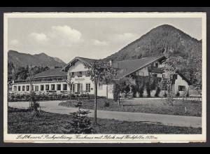 AK Ruhpolding Kurhaus 1941 nach Werne (16732