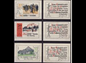 Österreich - Austria St. Lorenz 3 Stück Notgeld Oberösterreich (12010