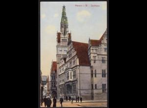 AK Münster Westfalen Stadthaus schöne Ansicht (16889
