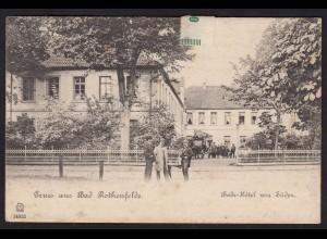 AK Gruss aus Bad Rothenfelde Bade-Hotel 1898 (16901