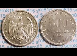 500 Mark Deutsches Reich Jäger Nr. 305 1923 A (b571