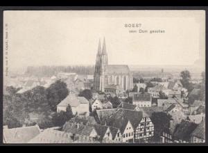 AK Soest Übersicht vom Dom aus gesehen (16972