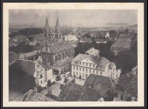 AK Werl Wallfahrtskirche und Hausansichten als Stempelvorlage genutzt (16990