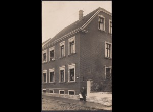 AK Oelde seltenes Privatfoto 1909 nach Bentheim (16992