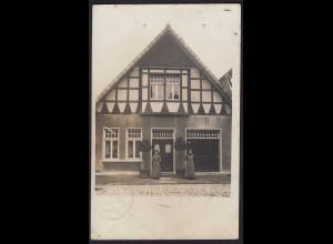AK seltenes Privatfoto Harsewinkel vom 1911 (17029