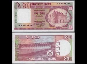 Bangladesh - 10 Taka 1982 Pick 26c UNC (14433